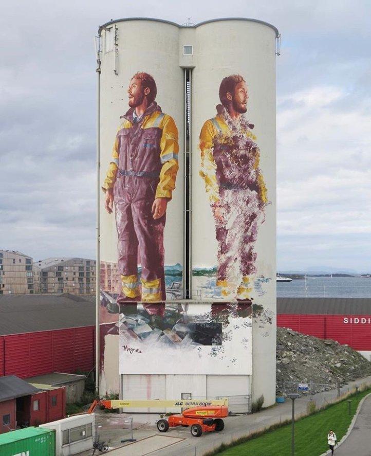 Fintan Magee @Stavanger, Norvegia