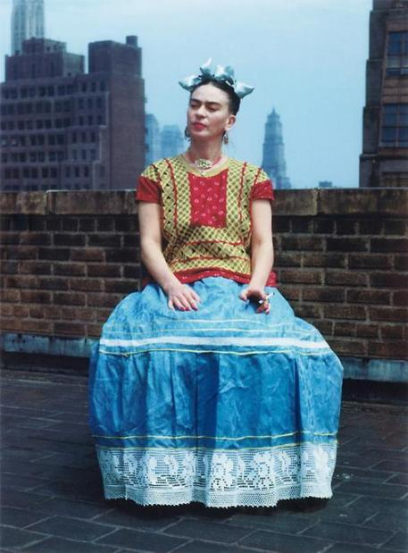 Frida Kahlo. New York, 1946. Fotografia di Nickolas Muray