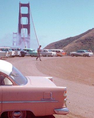 Golden Gate Bridge, San Francisco, 1950, Kodachrome da Chalmers