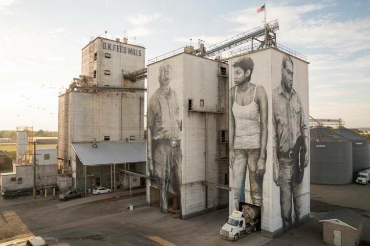 Guido van Helten @Forth Smith, Arkansas