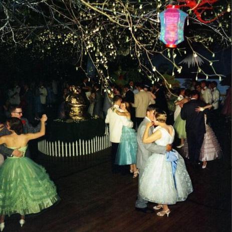Alta scuola di danza, Chelsea, Michigan, '57
