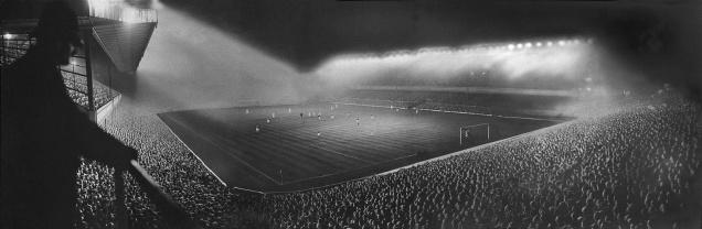 Highbury Stadium a Londra, 1951