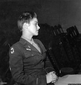 Il tenente V. Rodi del WAAC al Fort Oglethorpe, 1943