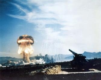 Il test Grable, con il pezzo di artiglieria atomica utilizzato per sparare la testata