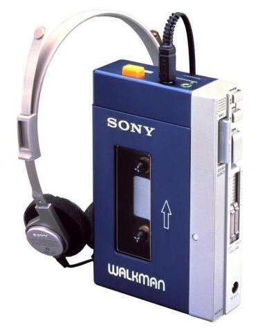Il Walkman Sony originale, 1980