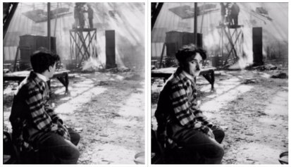 Incendio allo studio di Chaplin durante la realizzazione di The Circus, 28 Settembre 1926