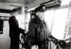 Interni dell'Hindenburg, il dirigibile tedesco della seconda guerra mondiale