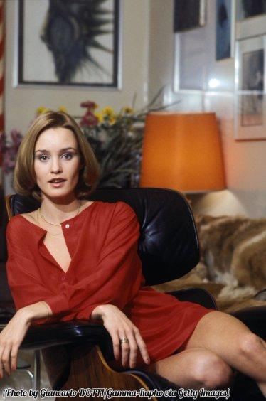 Jessica Lange, Francia, circa 1970