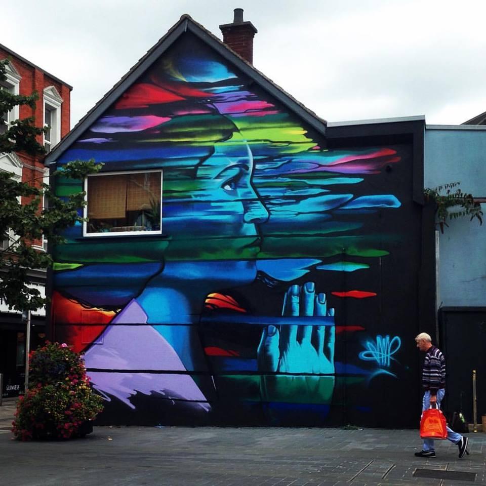 Jonny McKerr @Belfast, Irlanda