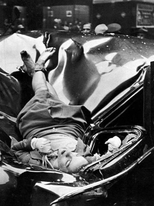 La morte di Evelyn McHale fotografata da Robert C Wiles - Immagine originale