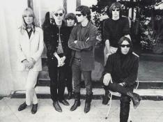 Lou Reed con Andy Warhol e The Velvet Underground, New York, 1966