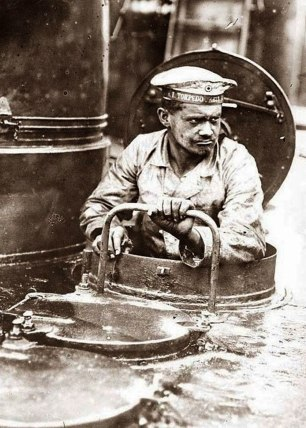 Membro dell'equipaggio di un U-boat tedesco, 1916