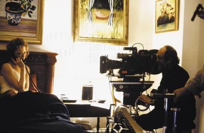 Nicole e Stanley sul set di Eyes Wide Shut