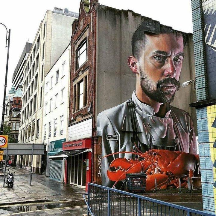 Smug One @Belfast, Irlanda