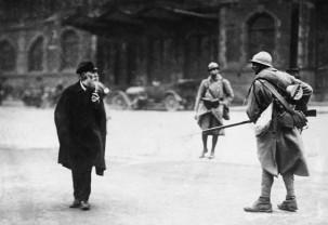 Soldati francesi nella Ruhr, 1923