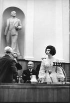 Sophia Loren al Cremlino