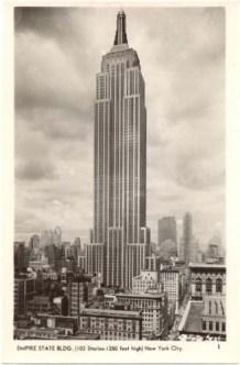 L'Empire State Building poco dopo il suo completamento nel 1931