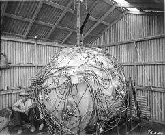The gadget, la prima bomba atomica, 1945