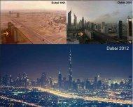 L'incredibile trasformazione di Dubai dal 1991 al 2012