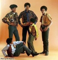 I Jackson 5 con Michael al centro, 1969