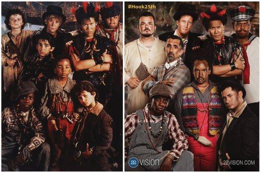 Gli attori di Hook dopo 25 anni
