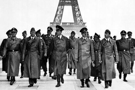 Tour trionfale di Hitler a Parigi, 1940