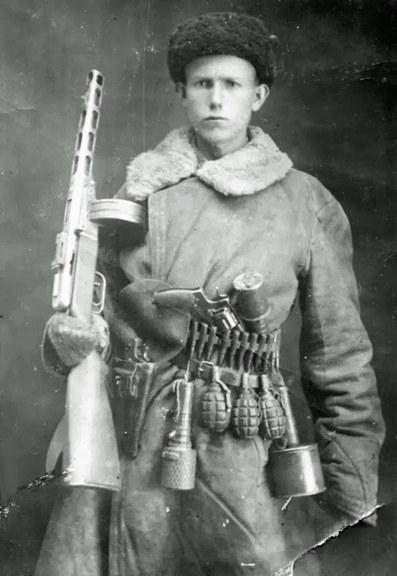 Un partigiano sovietico, 1944