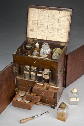Valigetta porta medicine, Inghilterra, 1801