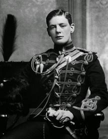Winston Churchill da giovane, 1895