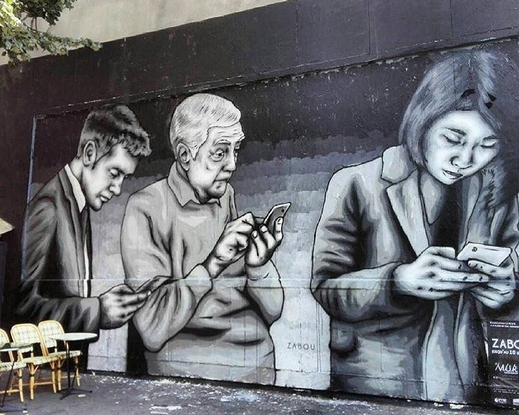 Zabou @Parigi, Francia