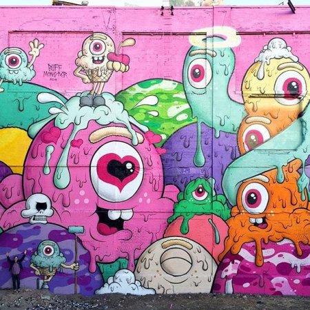 Buff Monster @Jersey City, USA