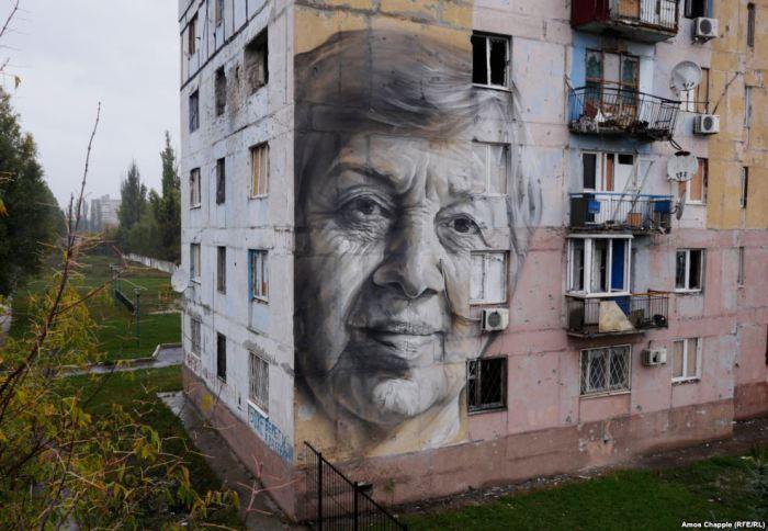 Guido van Helten @Kiev, Ucraina