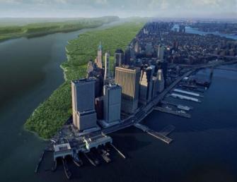 Manhattan oggi rispetto a quello che doveva essere 400 anni fa