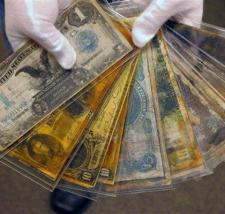 Vecchio denaro recuperato dal Titanic