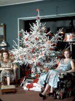 Albero di Natale innevato, 1954
