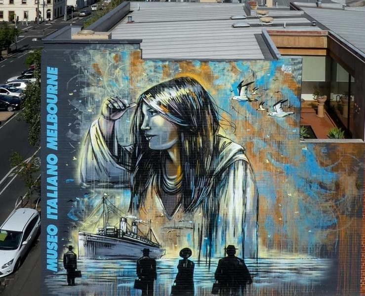 Alice Pasquini @Melbourne, Australia