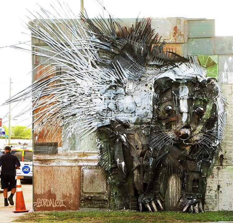 Bordalo II @Miami, Florida