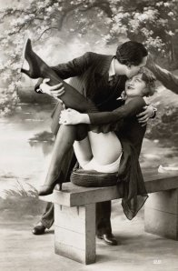Cartoline erotiche vintage