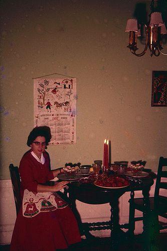 Cena di Natale, 1957