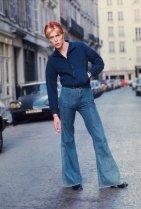 David Bowie, Parigi 1976. Foto di Andrew Kent