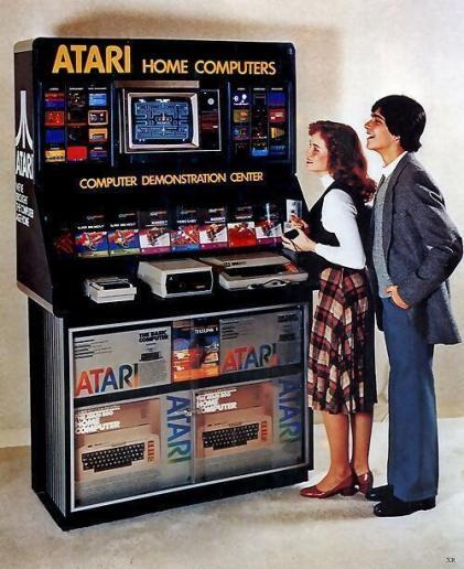 Dimostrazione Atari computer, 1979