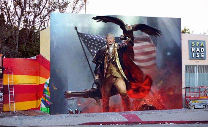 Donald Trump by Graffiti Kings