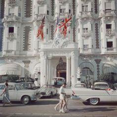 Hotel Carlton, Cannes, 1958