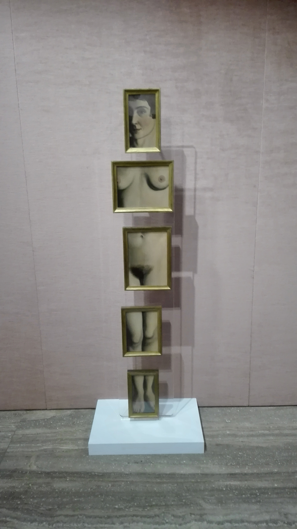 René Magritte. L'Évidence éternelle (The Eternally Obvious). Paris, 1930 - Collezione William N. Copley