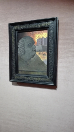 Man Ray - Portrait imaginaire du marquis de Sade (Imaginary portrait of the Marquis de Sade) (1938) - collezione William N. Copley