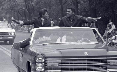 James Brown e Muhammad Ali, Grand Marshals della Bud Billiken Parade, Chicago 1968
