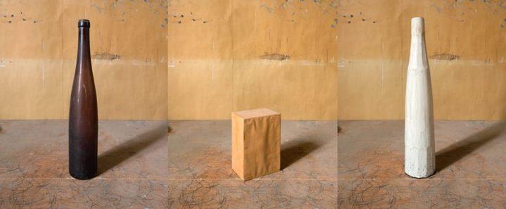 Joel Meyerowitz - Morandi's Objects, Triptych Number One, 2015