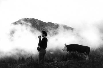 Martine Franck in Svizzera nel 1984