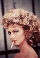 """Olivia Newton-John, foto pubblicitaria per """"Grease"""", 1978"""