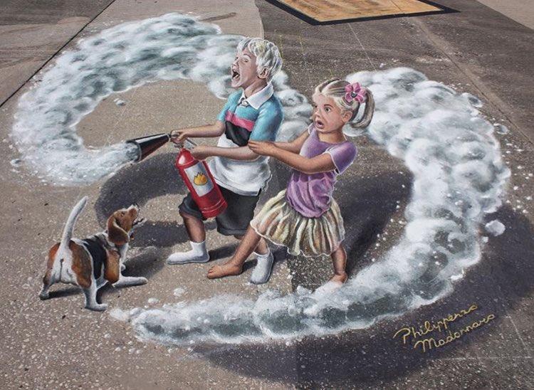 Philippenzo Madonnaro @Venice, Florida
